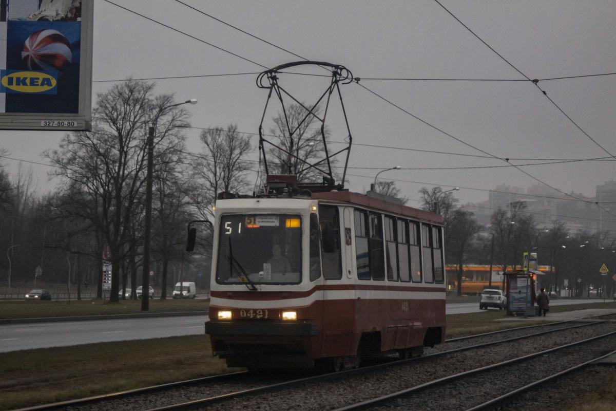 Санкт-Петербург. 71-134К (ЛМ-99К) №0421