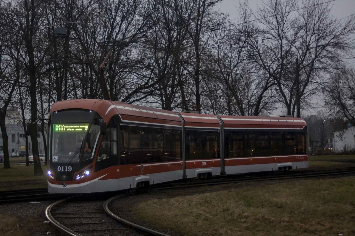 Санкт-Петербург. 71-931М Витязь-М №0119