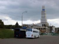 Москва. Neoplan N516SHD Starliner е464еа, Yutong ZK6122H9 с551км