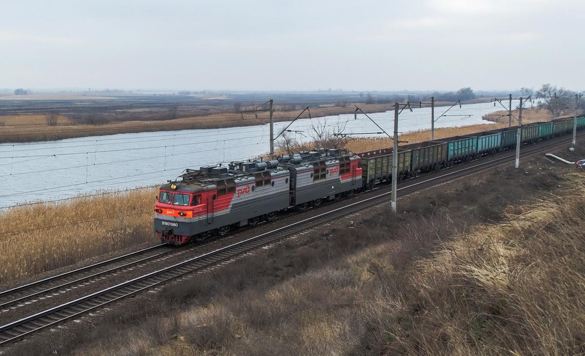 Ростов-на-Дону. ВЛ80т-1980