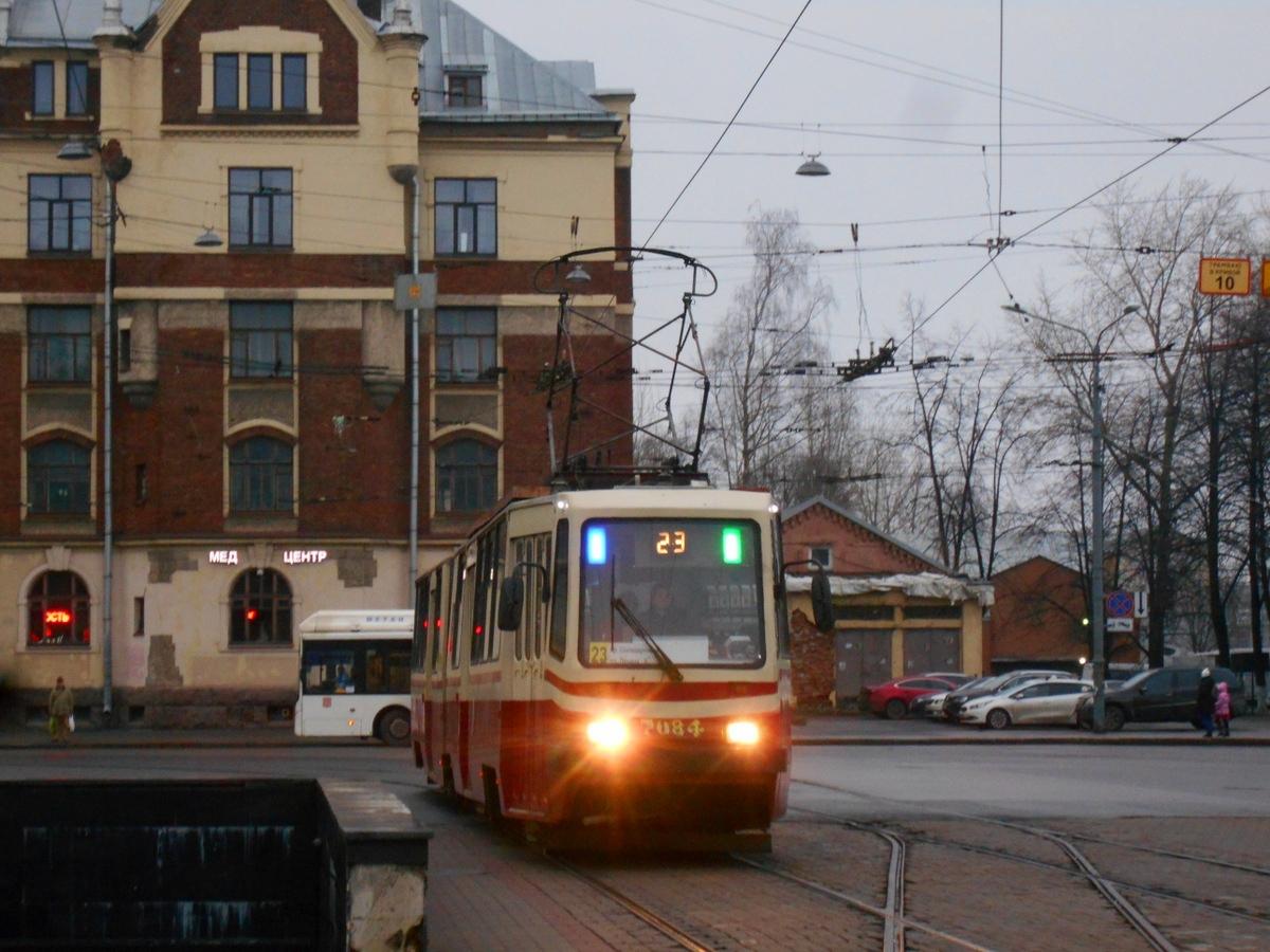 Санкт-Петербург. ЛВС-86К №7084