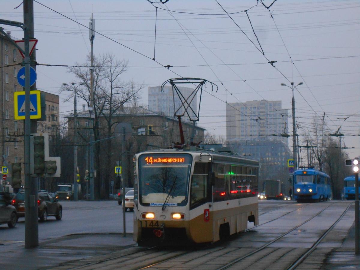 Москва. 71-619А (КТМ-19А) №1144