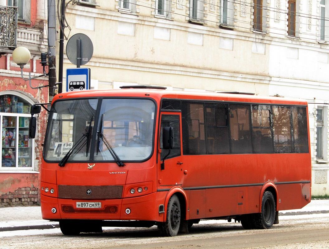 Вышний Волочёк. ПАЗ-320414-04 Вектор н897см