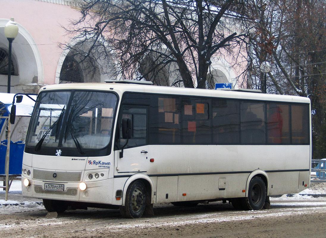 Вышний Волочёк. ПАЗ-320414-04 Вектор а570ро