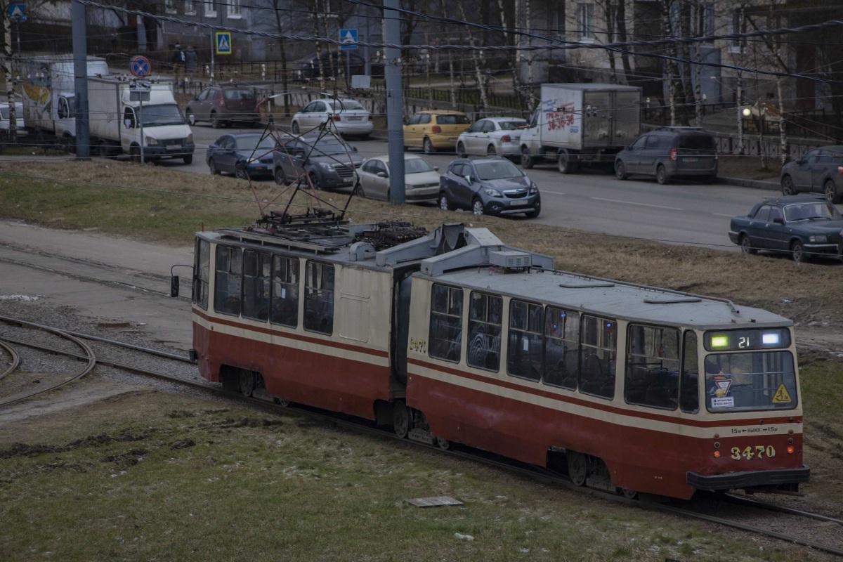 Санкт-Петербург. ЛВС-86К №3470