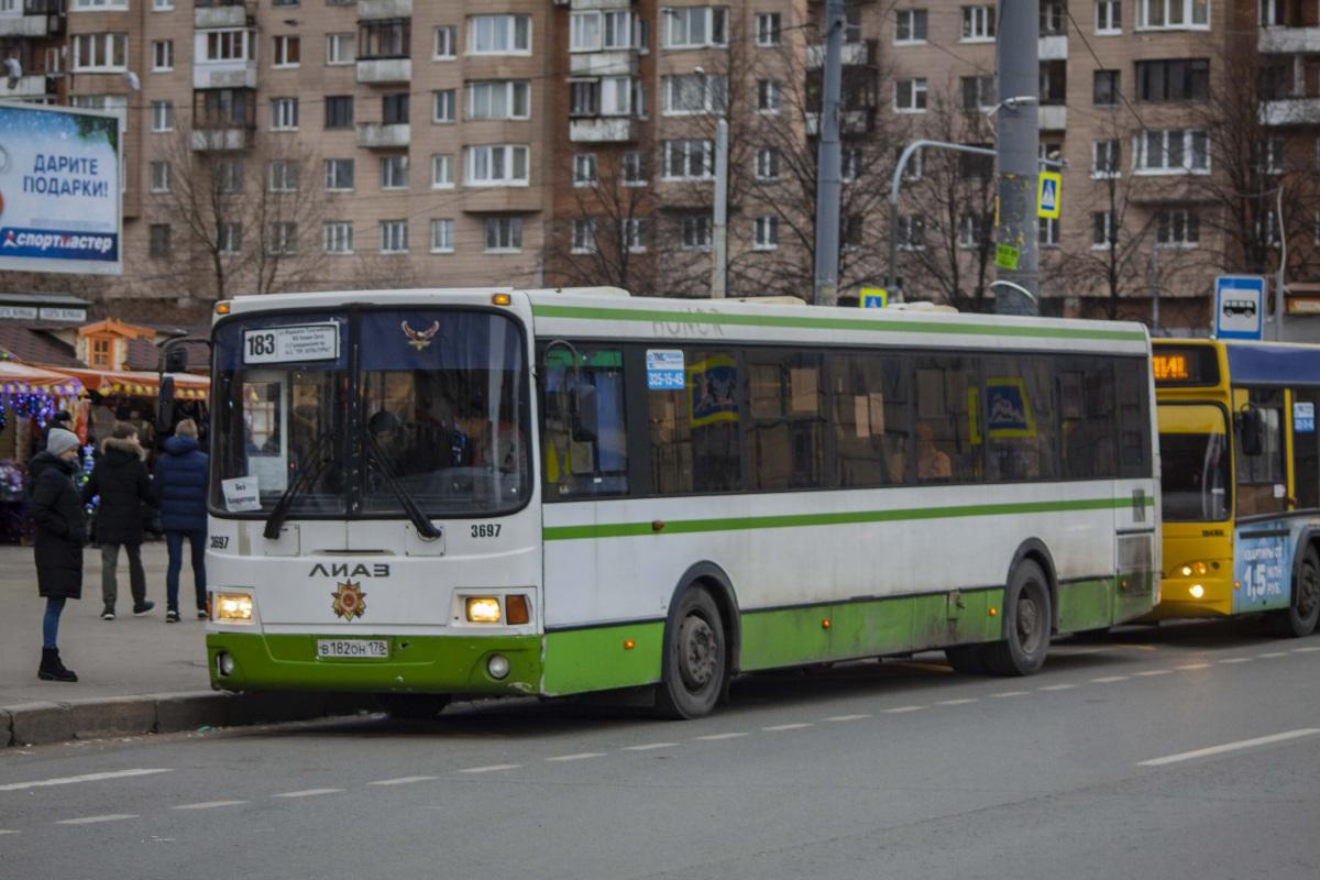 Санкт-Петербург. ЛиАЗ-5293.60 в182он