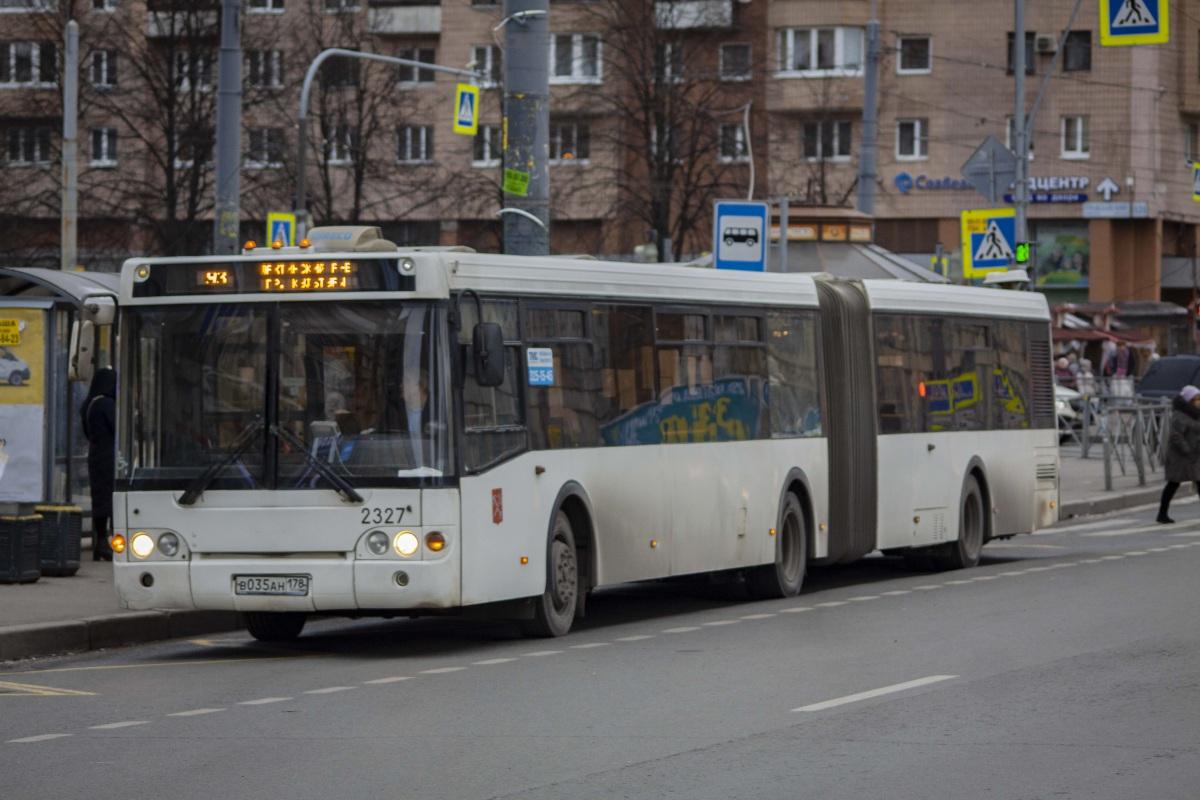 Санкт-Петербург. ЛиАЗ-6213.20 в035ан