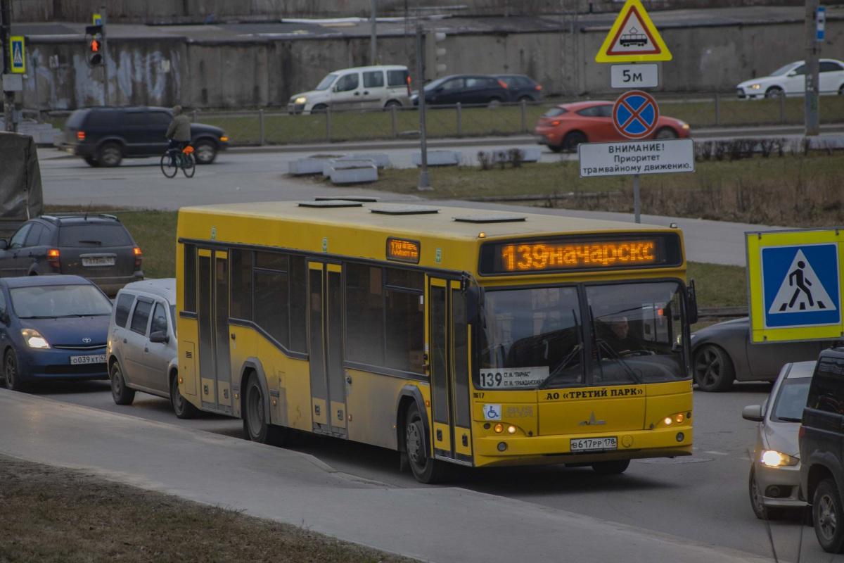 Санкт-Петербург. МАЗ-103.485 в617рр