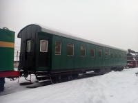Челябинск. Четырёхосный пассажирский вагон