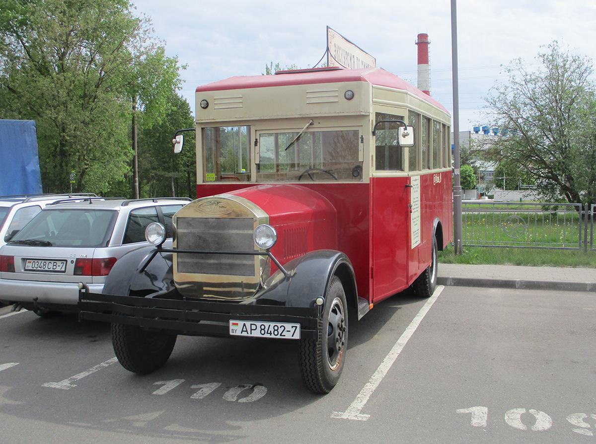 Минск. (автобус - модель неизвестна) AP8482-7