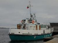 Кемь. Рейдово-портовое пассажирское судно Святитель Филипп