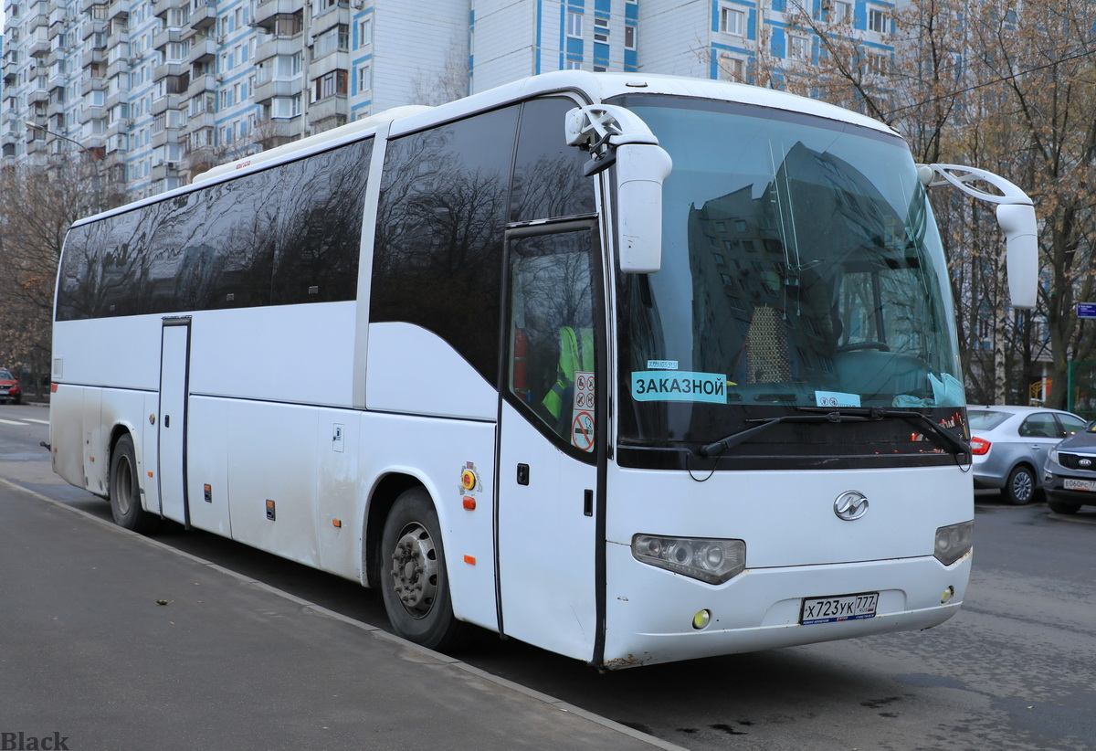 Москва. Higer KLQ6129Q х723ук