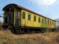 Ворожба. Старый санитарный вагон
