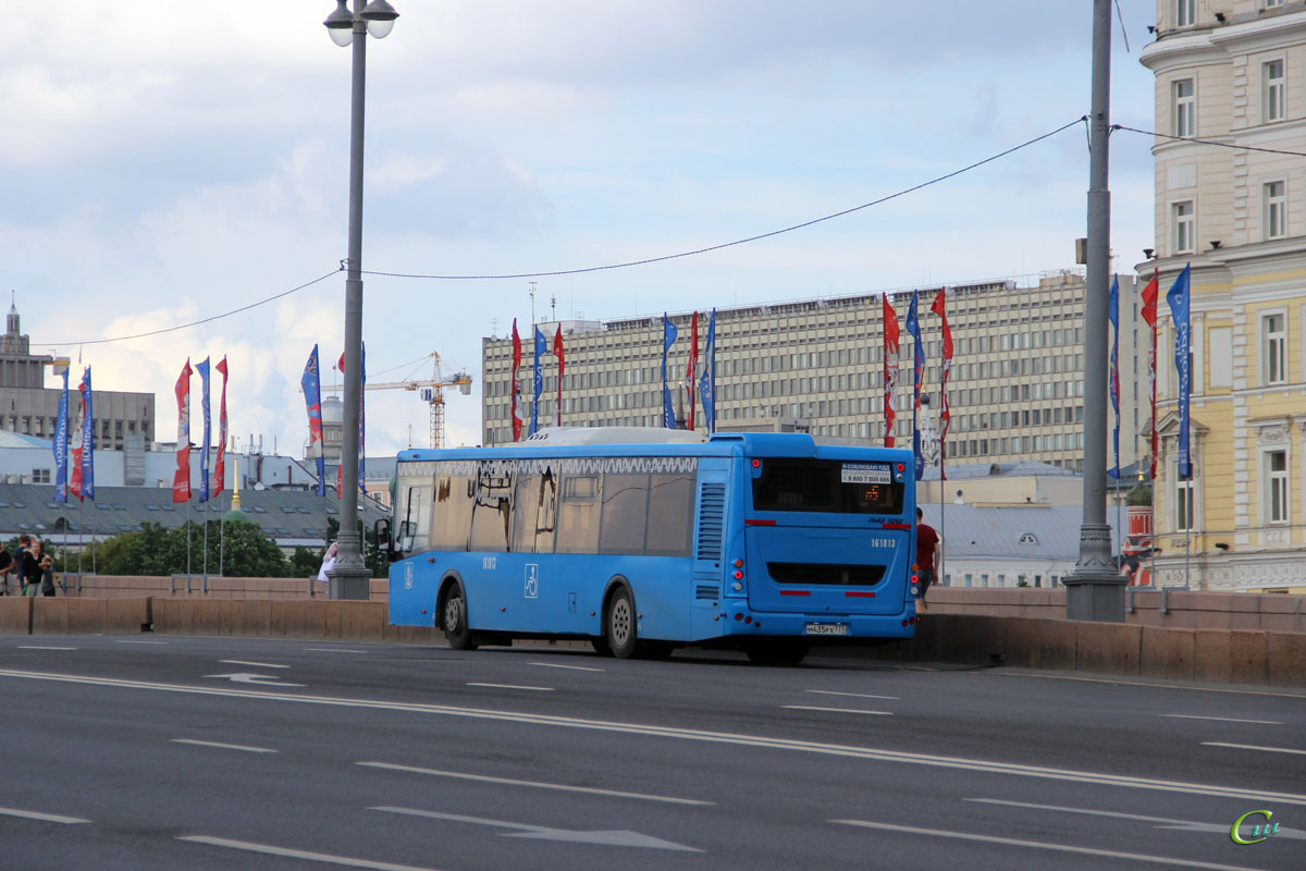Москва. ЛиАЗ-5292.65 м435рх