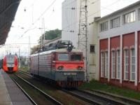 Тверь. ВЛ10у-762, ЭС2Г Ласточка-021