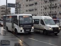 Санкт-Петербург. ПАЗ-320435-04 Vector Next а823еу, БТД-2219 (Volkswagen Crafter) в214вв