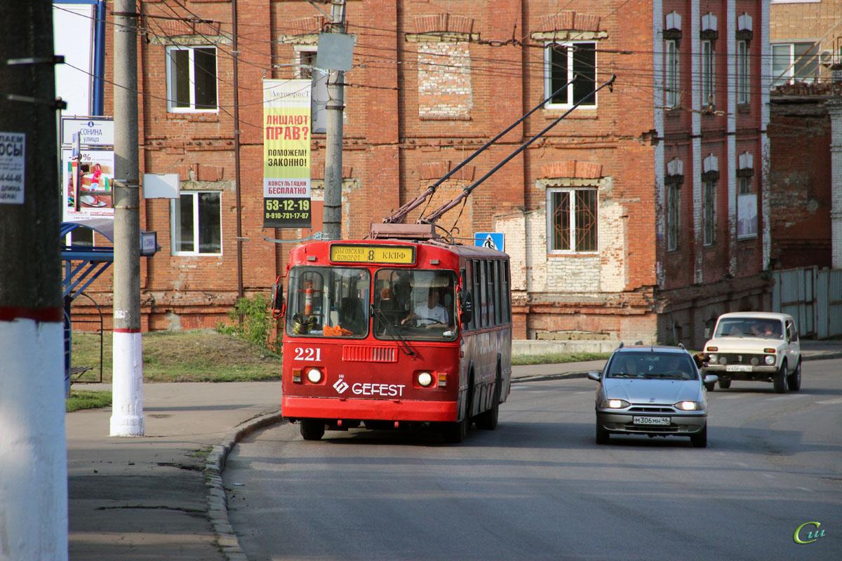 В Курске станет меньше троллейбусов