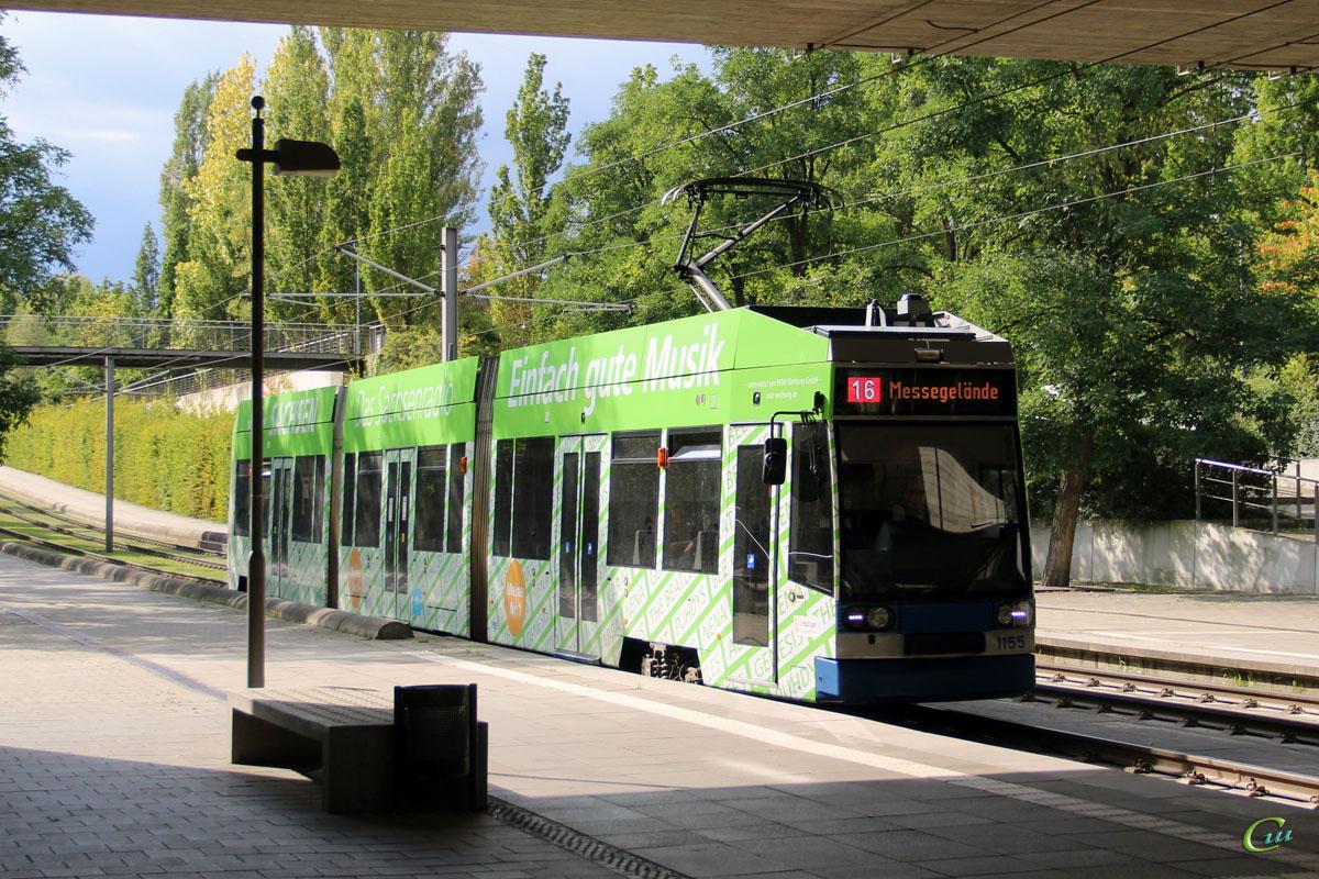 Лейпциг. Bautzen NGT8 №1155