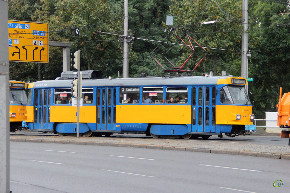 Лейпциг. Tatra T4D-M1 №2128