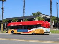 Лонг-Бич. Gillig BRT CNG 1241936
