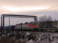 Московская область. Грузовой магистральный электровоз постоянного тока ВЛ10-336