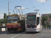 Ростов-на-Дону. Tatra T6B5 (Tatra T3M) №800, 71-911E City Star №124