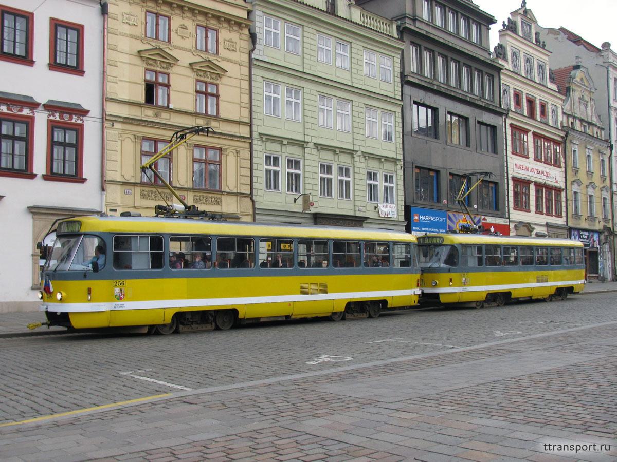 Пльзень. Tatra T3R.P №256, Tatra T3R.P №257