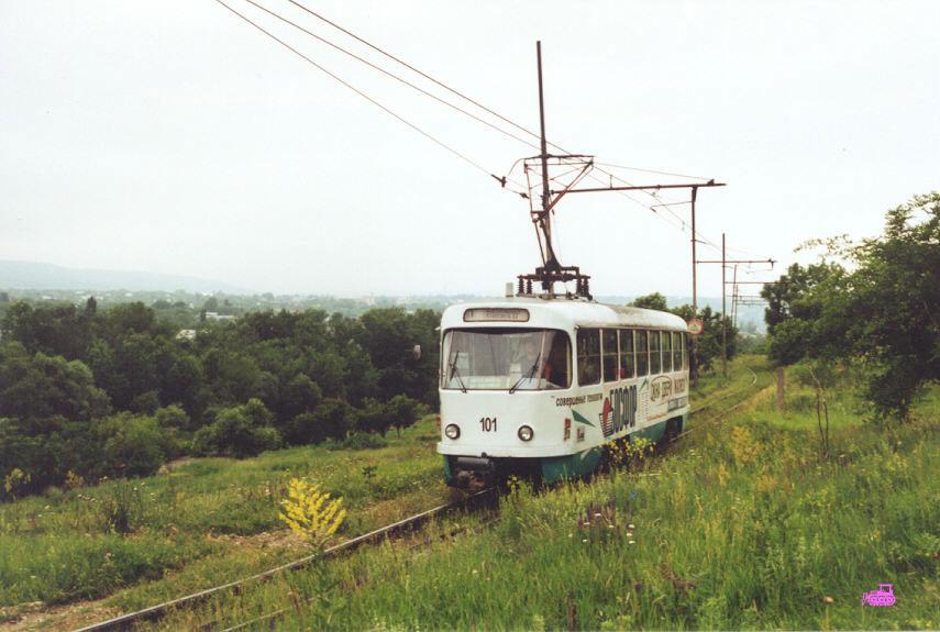 Пятигорск. Tatra T4D №101