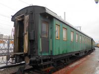 Москва. Пассажирский вагон