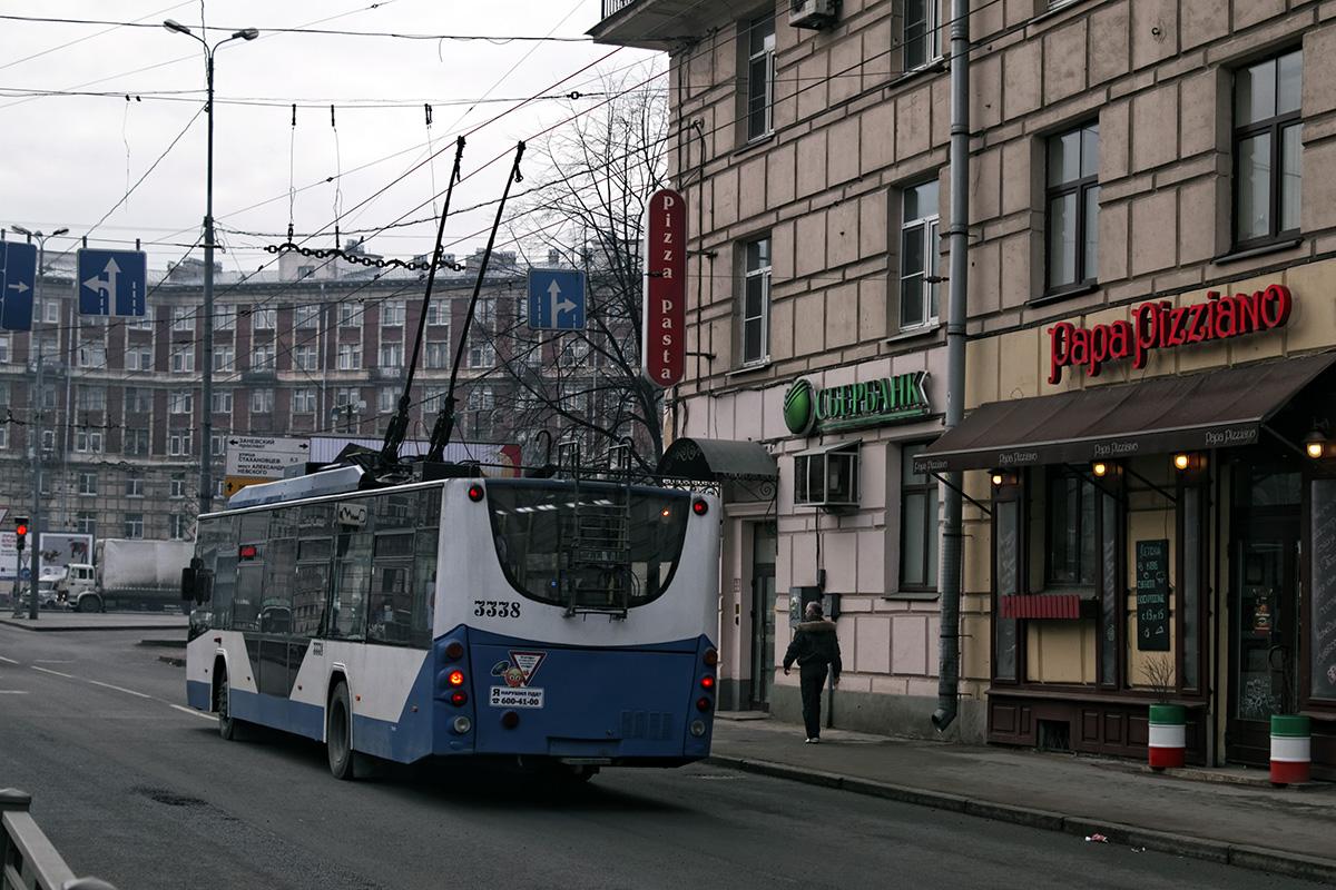 Санкт-Петербург. ВМЗ-5298.01 Авангард №3338