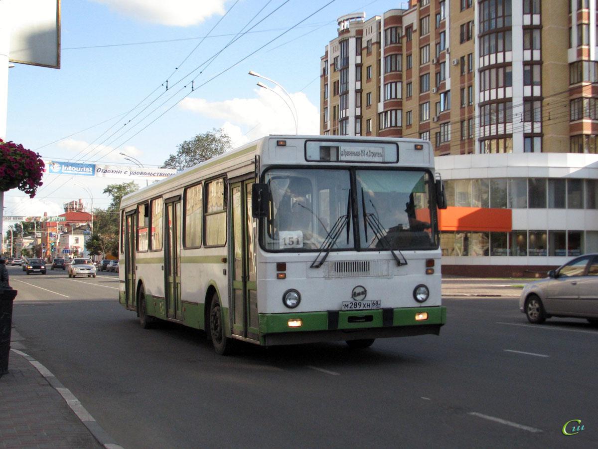 Тамбов. ЛиАЗ-5256.25 м289хн