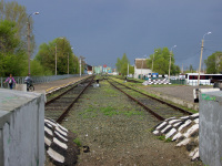Урюпинск. Железнодорожные пути станции Урюпино