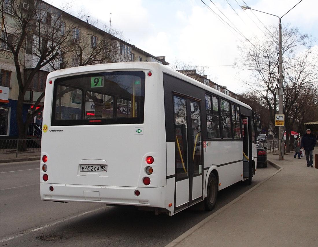 Евпатория. ПАЗ-320414-14 Вектор в452са