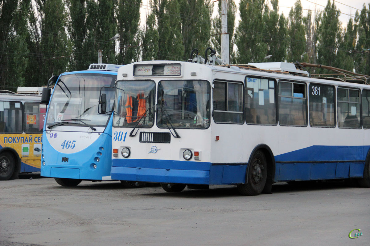 Белгород. АКСМ-420 Витовт №465, ЗиУ-682Г-012 (ЗиУ-682Г0А) №381