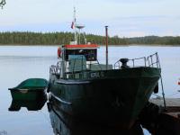 Соловецкий. Рыболовное судно Керец