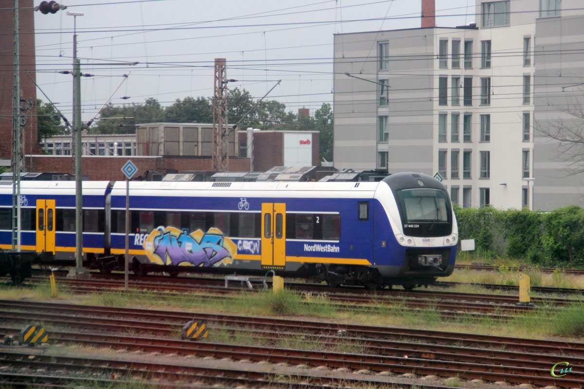 Бремен. Alstom Coradia Continental ET 440 224