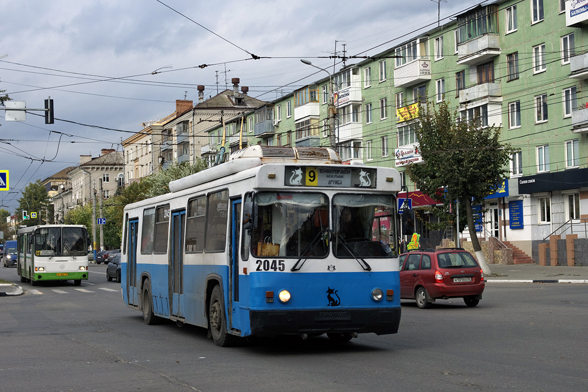Брянск. ЛиАЗ-5256.45 ае862, БТЗ-5276-04 №2045