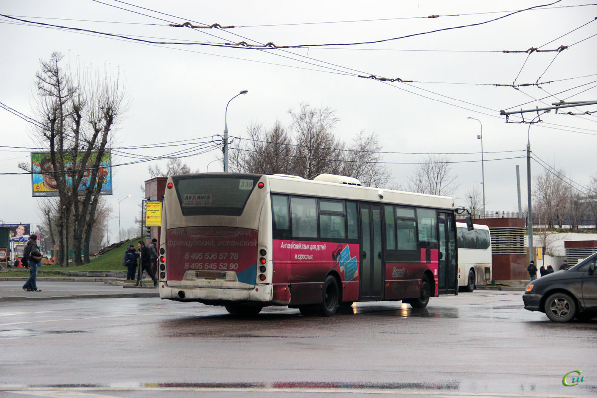 Москва. Scania OmniLink CK95UB вх949
