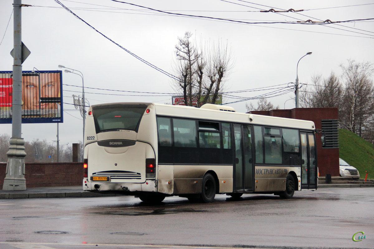 Москва. Scania OmniLink CL94UB еа151