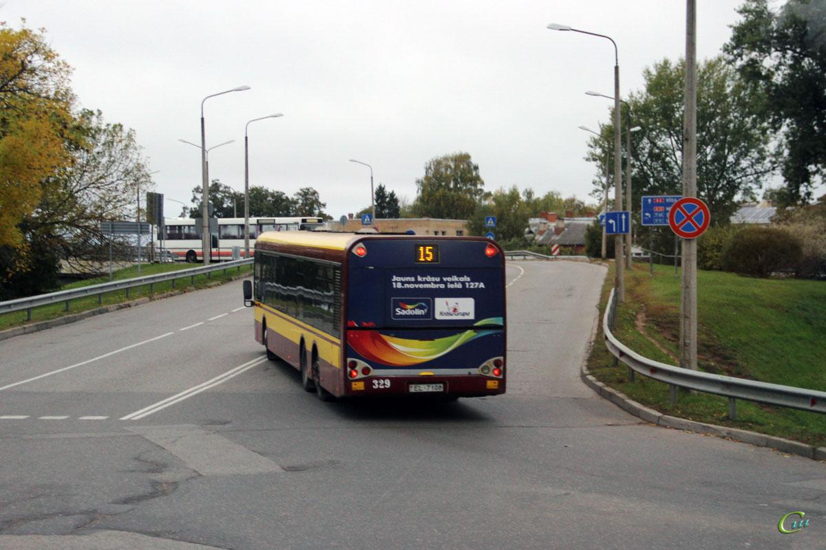 Даугавпилс. Solaris Urbino 15 EL-7108