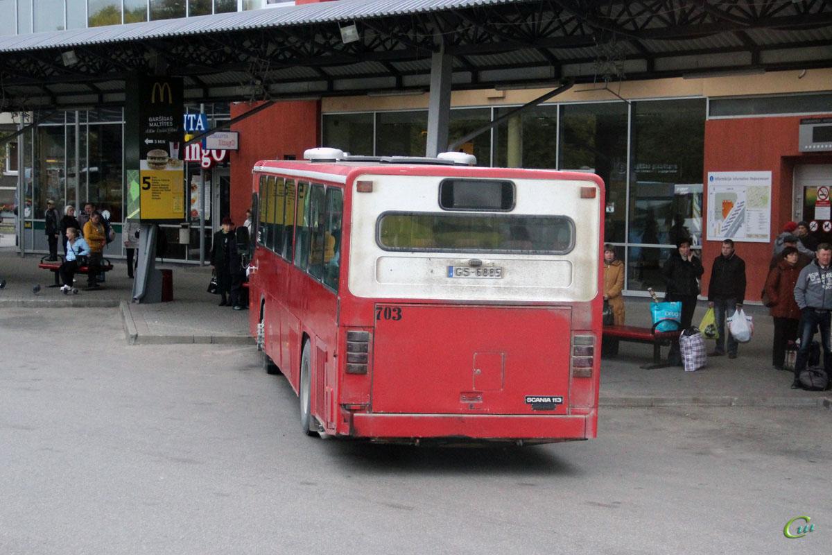 Даугавпилс. Scania CN113CLB GS-6885