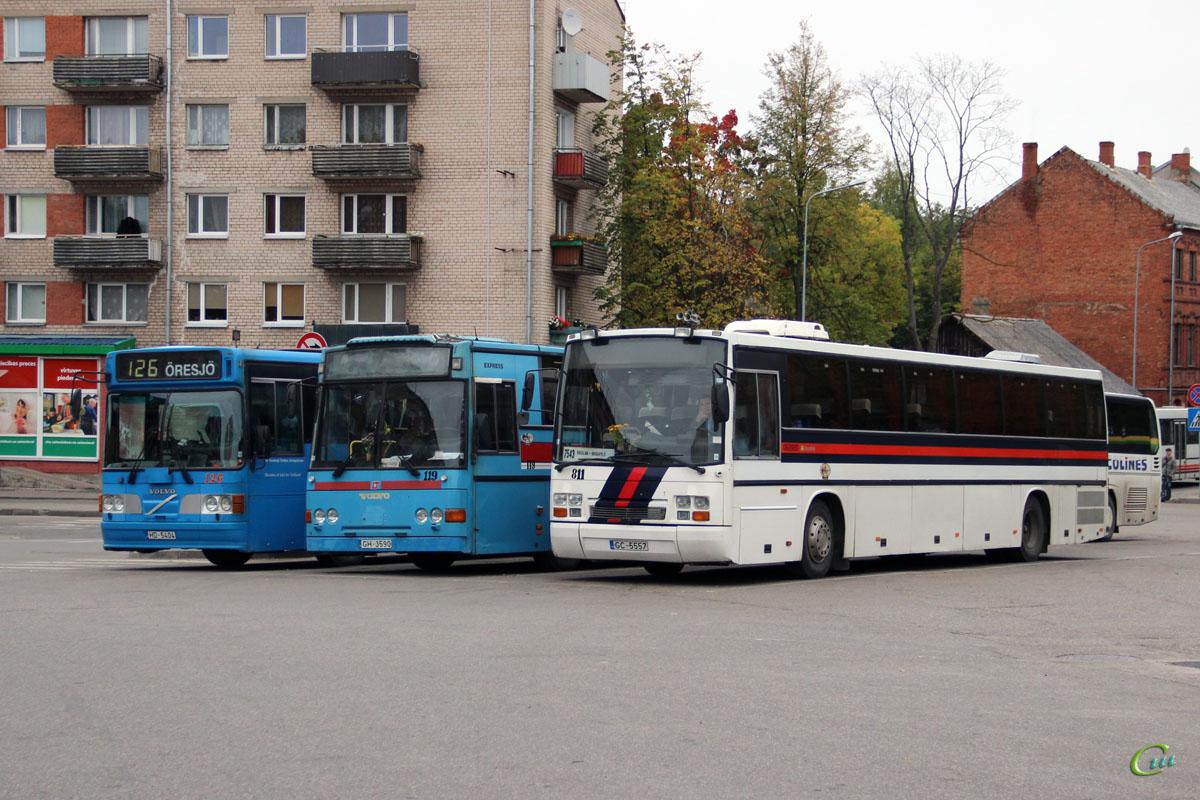 Даугавпилс. Säffle 2000 (Volvo B10M-50) HD-5404, Carrus Express GH-3590, Carrus Fifty GC-5557