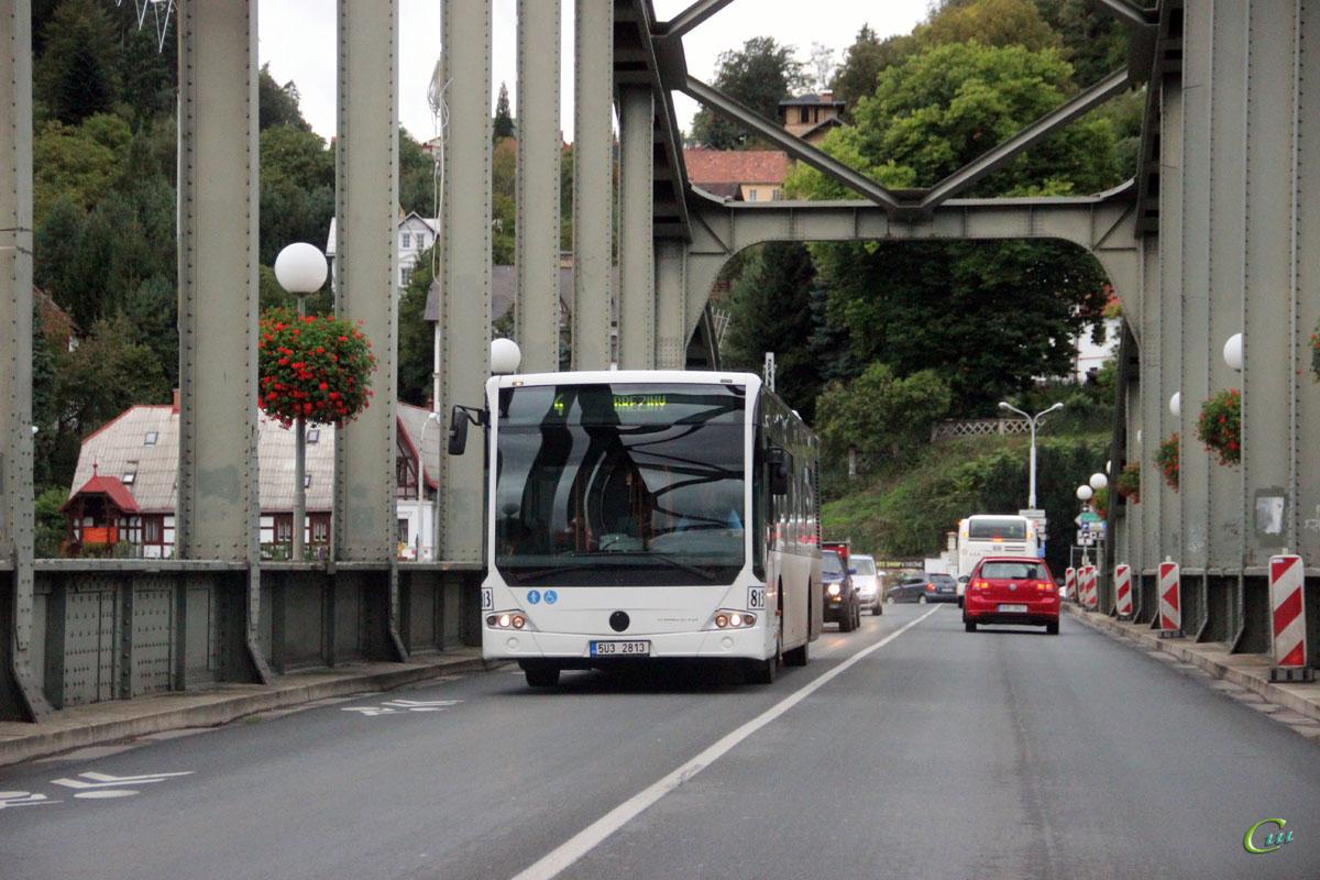Дечин. Mercedes-Benz O345 Conecto LF 5U3 2813