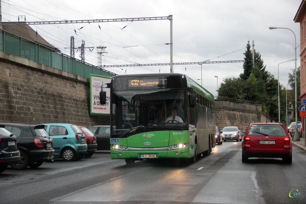 Дечин. Solaris Urbino 15 LE 5L1 5036