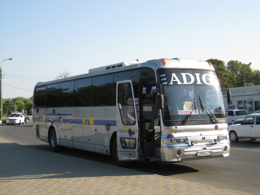 Анапа. Hyundai AeroExpress Hi-Class а739се