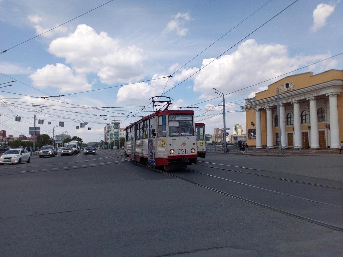 Челябинск. 71-605 (КТМ-5) №1230