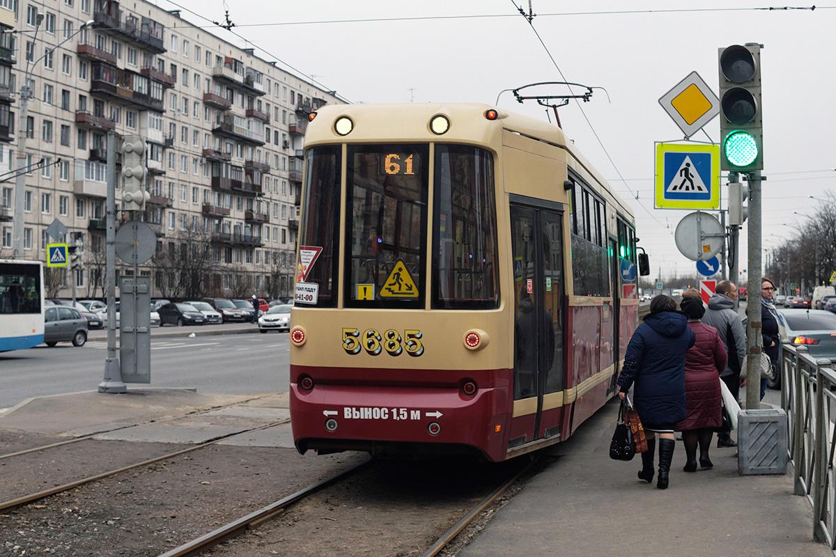 Санкт-Петербург. ЛМ-68М2 №5685