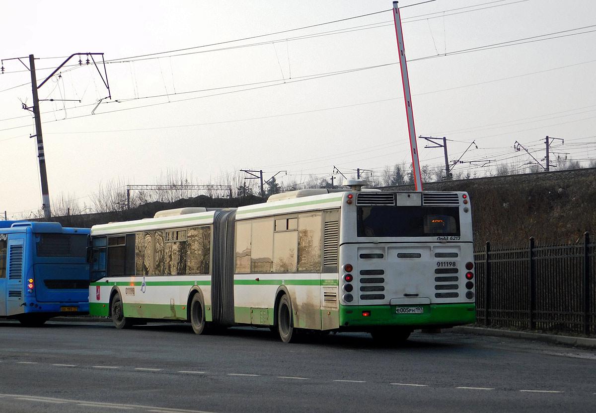 Москва. ЛиАЗ-6213.21 е005рн