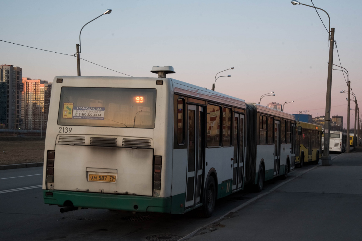 Санкт-Петербург. ЛиАЗ-6212.00 ам587