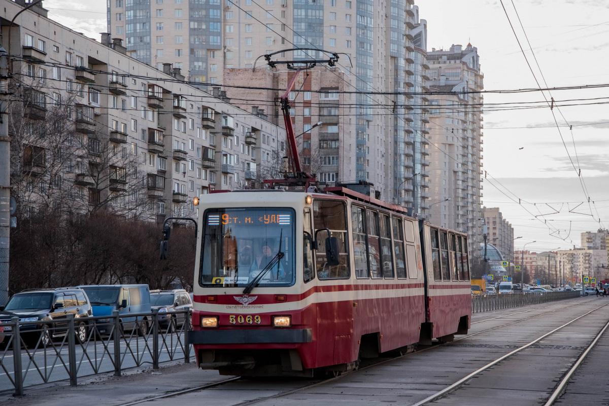 Санкт-Петербург. ЛВС-86К №5069